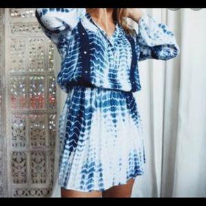 Romeo & Juliet NWT Beach tie dye coverup dress SM